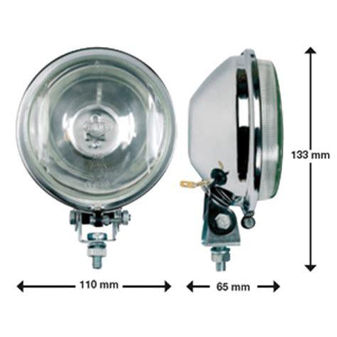 lada per proiettore 8 coppia fari di profondita cromati 100 mm ricambi tuning