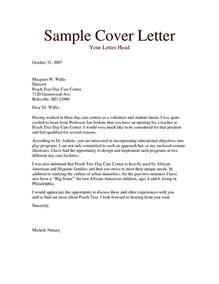 preschool cover letter no experience preschool assistant cover letter