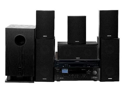 onkyo hts777c 6 1 channel home theater system newegg