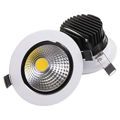 15w non dimmable cob led recessed ceiling light fixture