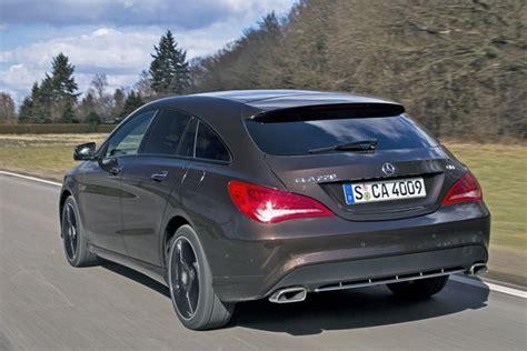 Auto Bild Sportscars Abo K Ndigen by Video Mercedes Cla Shooting Brake Autobild De