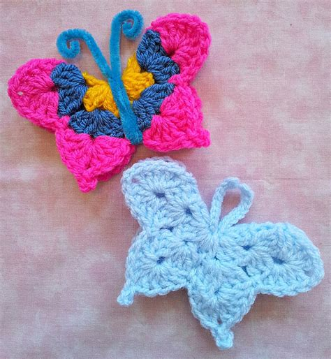 butterfly pattern in crochet so far so good fridgie butterfly