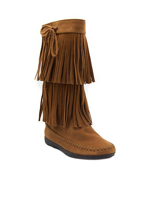 belk fringe boots sugar chessie fringe boots belk