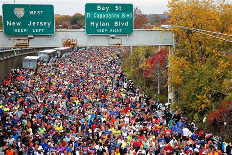 st s day race new nyc marathon 2016 date start time when is it heavy