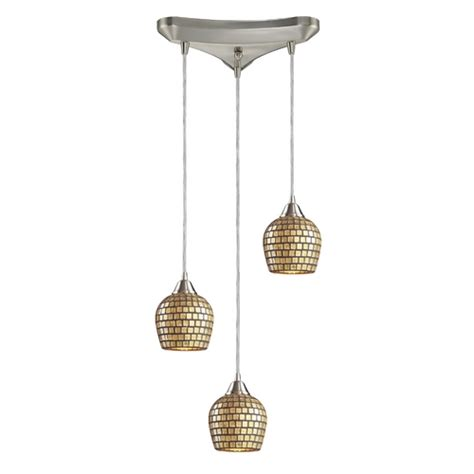 Multi Pendant Lighting Fixtures Modern Multi Light Pendant Light 3 Lights 528 3gld Destination Lighting