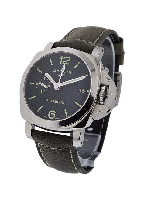 Luminor Panerai Gmt Black Premium pam00535 panerai 1950 gmt power reserve essential watches