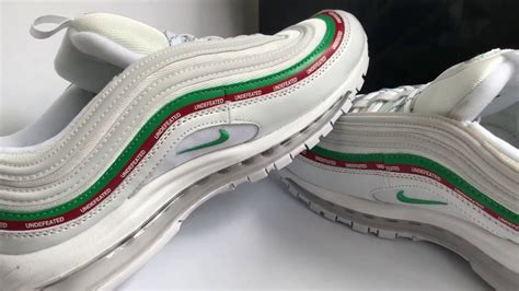 Nike Air 97 Undefeated White Ua Version giveaway undefeated x nike air max 97 black white