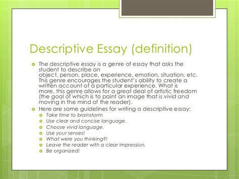 5 Types Of Essays by Tips For An Application Essay 5 Types Of Essays