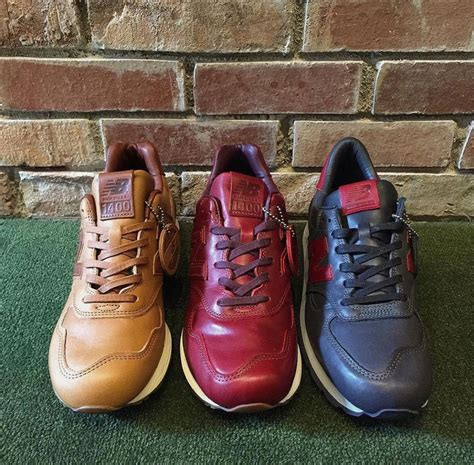 New Balance 1400 Leather new balance 1400 990 made from horween leather in the
