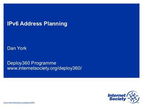 Lookup Ipv6 Address Ipv6 Address Planning