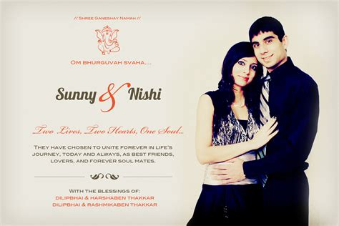 Wedding Card Design With Photo