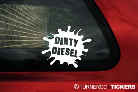 Vw Funny Sticker by Dirty Diesel Funny Sticker Decal Ideal For Vw Bora Lupo