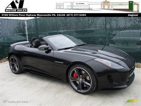 jaguar f type r black 2016 ultimate black metallic jaguar f type r convertible
