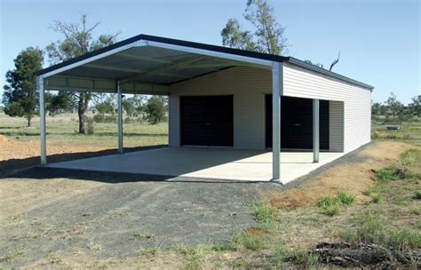 Open Carports For Sale Garage Kits Wide Span Sheds