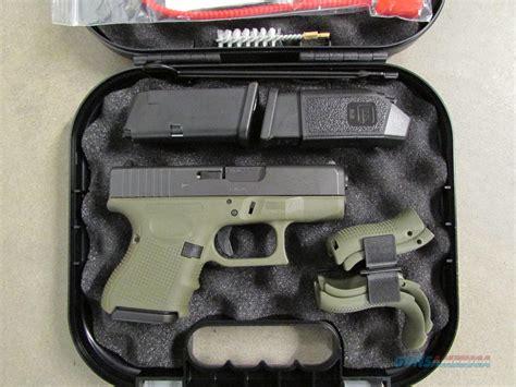 Airsoft Gun Glock 27 glock 26 g26 gen4 bfg green frame 9mm pg2650201bfg guns
