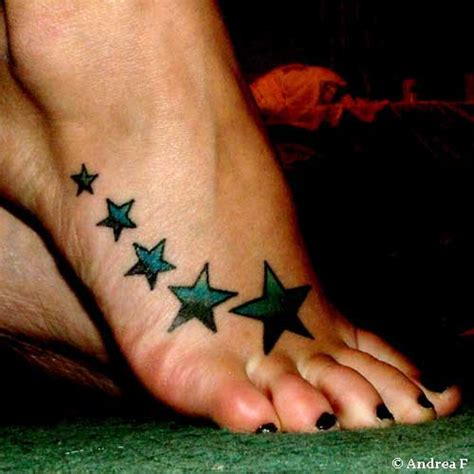 tattoo pictures foot star foot tattoos cool tattoo designs