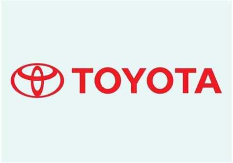logo toyota vector toyota vector logo free vector stock