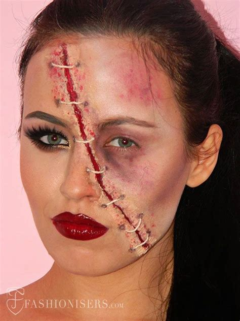 zombie makeup tutorial dark skin 1000 ideas about wound makeup on pinterest special