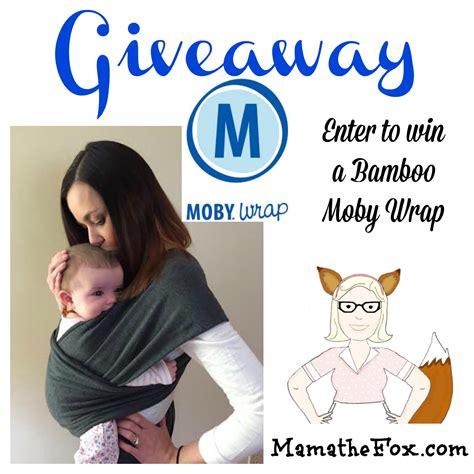 Wrap Giveaway - mamathefox bamboo moby baby wrap giveaway mamathefox