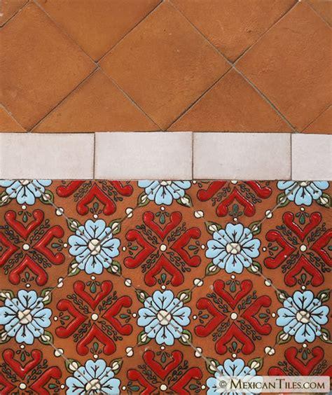 mexican tile unglazed natural gloss siena ceramic tile