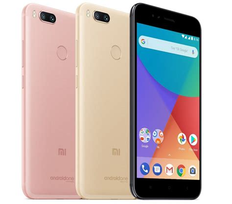 Xiaomi Mi A1 Smartphone Xiaomi Mi A1 Android One Phone With Dual Rear Cameras