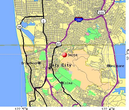 daly city california map daly city ca