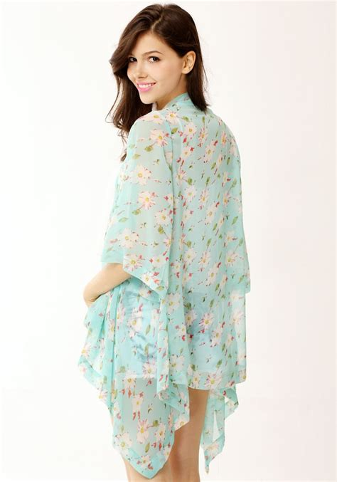 Kimono Top 2 outletpad floral crop sleeves kimono top store powered by storenvy