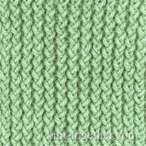 rib stitch knitting knit together corn rib with needles knitting patterns
