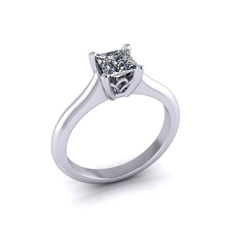 Solitaire Engagement solitaire princess cut engagement ring jewelry designs