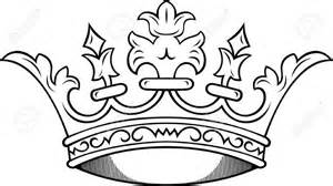 King And Queen Crown Drawings Sketch Coloring Page sketch template