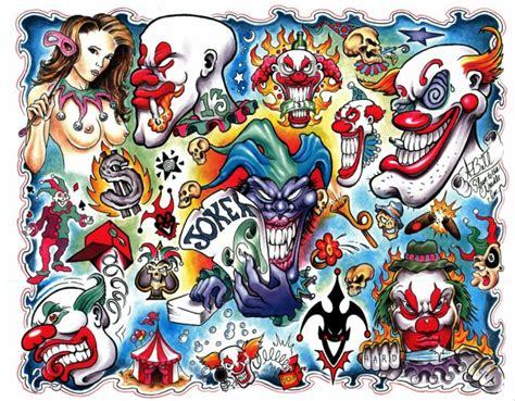 tattoo flash joker disegni per tatuaggi tatuaggi e disegni spunti flash per