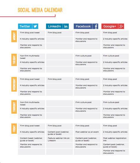 Social Media Content Calendar 5 Big Reasons Why You Need A Social Media Content Calendar