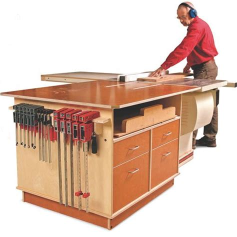 table saw woodworking plans table saw outfeed table plans woodworking tablesaw