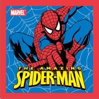 spider man blue hc amazing 0785110623 face cloths