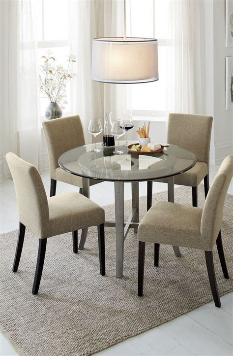 crate and barrel dining room style interior