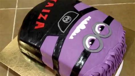 imagenes de minions violetas tarta minion morado fondant 2d youtube