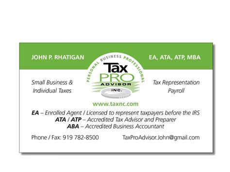 tax professional business cards template business cards sharper images inc
