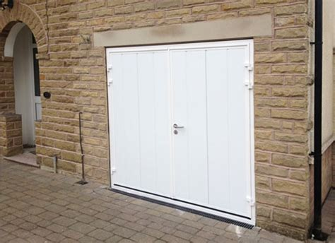 Insulating Garage Door Sides by Insulated Side Hinged Garage Door Installed In Sheffield