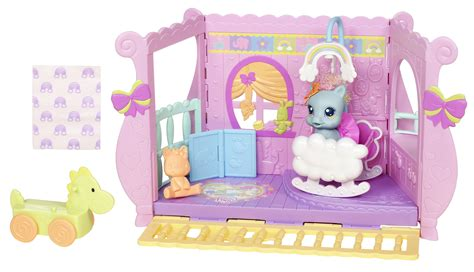 my little pony doll house my little pony newborn cuties little rainbow dash s