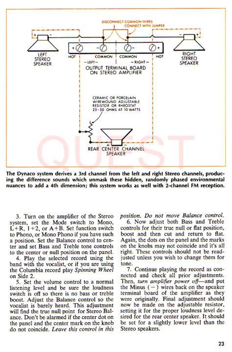 center channel speaker wiring diagram wiring diagram