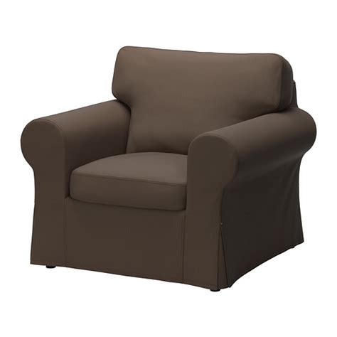ektorp armchair cover jonsboda brown ikea