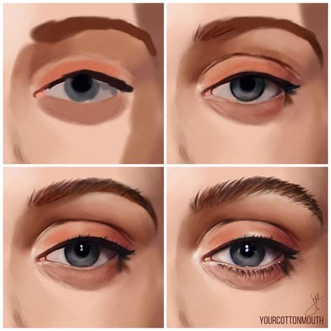 how to paint how i paint eyes by yourcottonmouth on deviantart
