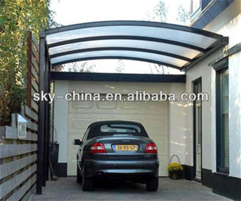 Where To Buy Portable Carports Portable Aluminum Frame Carport With Polycarbonate Roof