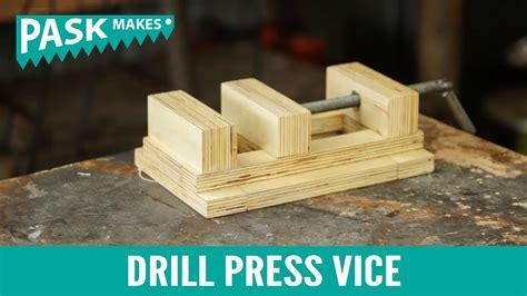 drill press vice youtube