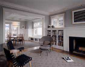 White Molding Living Room Walls With White Trim Living Room Traditional With
