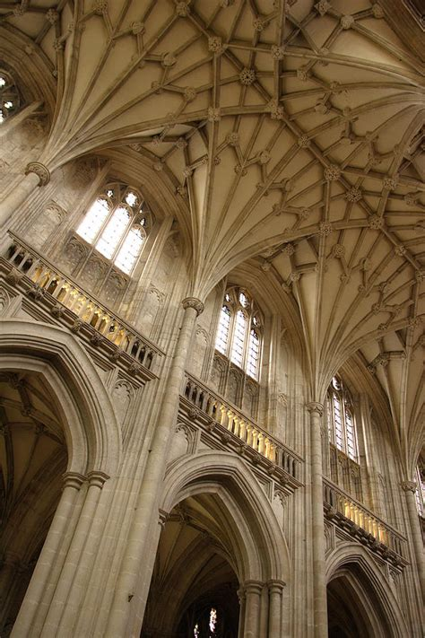 Vaulted Cathedral Ceiling by Vaulted Ceiling Photograph By Michael Hudson