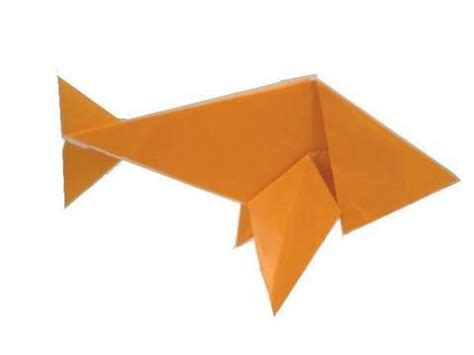 How To Make A Fish Out Of Paper Plate - origami fish