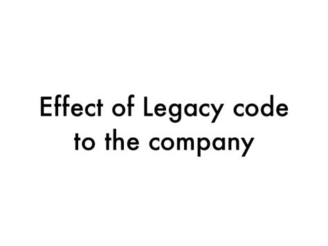 Forget Mba And Learn To Code by Legacy Code For Management