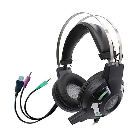 Headset Gaming Nyk Hs N04 jual nyk hs n01 gaming headset with led hitam