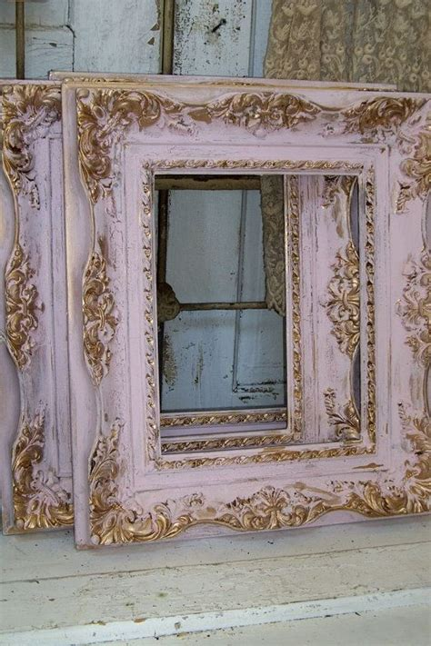 shabby chic schlafzimmerdekor shabby chic rosa rahmen weich ged 228 mpften farben gold